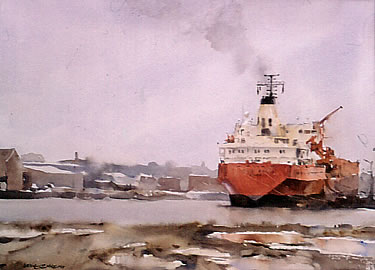 watercolour, Port Melbourne