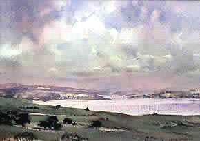 Watercolour, Towards Phillip Island