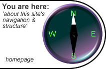 You are here: 'about this site's structure'